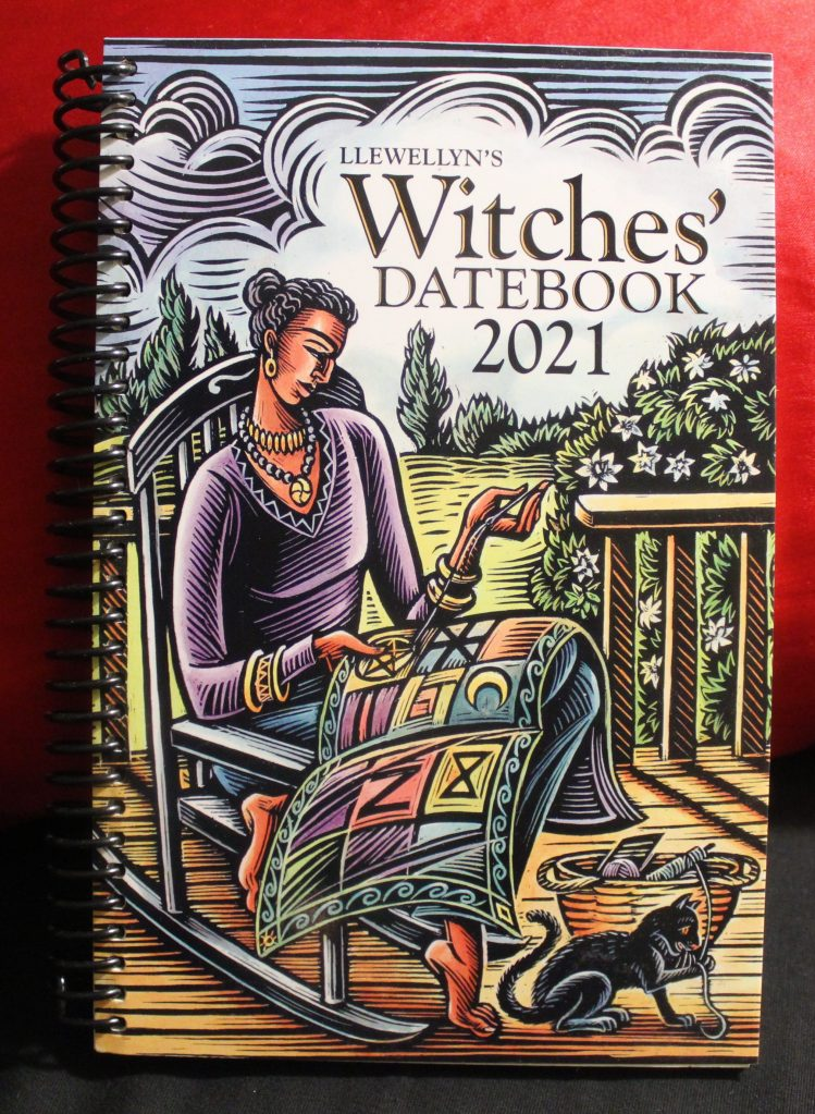 Witches Datebook front